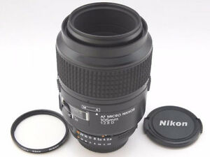 Near MINT Condition! Nikon AF Micro Nikkor 105mm f/2.8D Lens