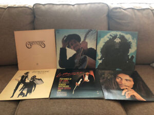 Vinyl Records For Sale - Mixed Lot of 9 Albums - $65 for all