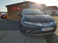 2007 Honda Civic 2.2i-CTDi ( 17in Alloys ) SE PX WELCOME BLACK