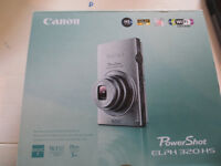 CANON ELPH 320 16 MP WITH WIFI AND 1080 HP