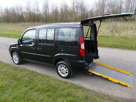 2011 Fiat Doblo 1.4 Top Spec WHEELCHAIR ACCESSIBLE DISABLED ADAPTED WAV Black