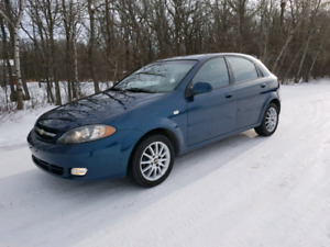 2007 Chevy Optra5 Automatic/ Safetied with Carproof 103000 kms