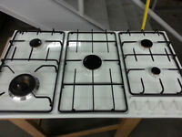 36 inch Cooktop White Sir George Natural Gas ( New )