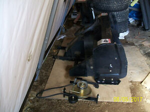 "Berco 40"" snowblower with brand new ""drive mechanism"""