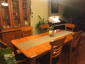 Dining Set Solid Wood For Sale