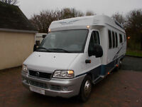 Hobby 700 left hand drive fixed rear bed motorhome for sale