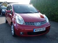 NISSAN NOTE 1.6 AUTOMATIC 5 DOOR HATCH-BACK TEKNA ( FULL SERVICE HISTORY )