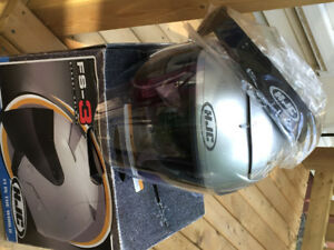 Motorcycle helmet large