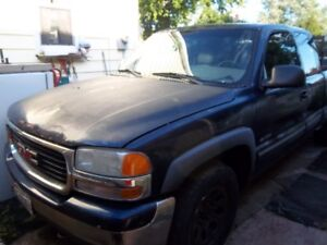 1999 to  2002 gmc and chevy fullsize 4x4 z71 truck parts