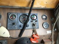 26 foot aluminum Starcraft cabin cruiser