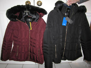 Down Jackets, Calvin Klein, Small (burgundy) Lg (black)BNWT