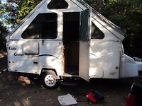 A-Liner Aluminum Sides  camper pop up