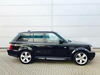 2006 06 Land Rover Range Rover Sport 4.2 Supercharged + Black + 2 x TVs