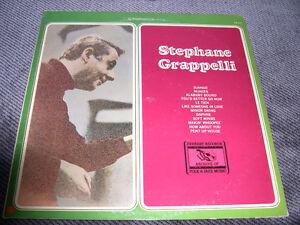 Stéphanne Grappelli - Stéphane Grappelli (1976) LP vinyl JAZZ