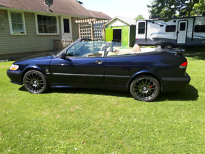 2001 saab 93 se convertible needs to go open to offer's