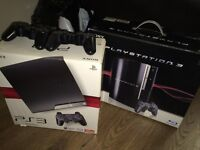 PS3 for sale slim 120gb perfect SOLD