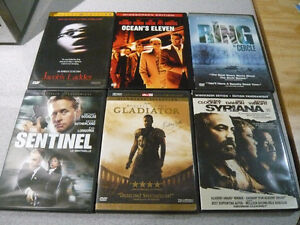 6 Dvd Movie Lot All 6 For $5!!!