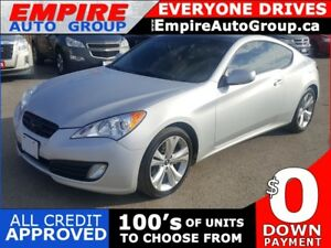 2011 HYUNDAI GENESIS COUPE 2.0T PREMIUM * LEATHER * SUNROOF * WI
