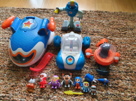 Go jetters jetpad vroomster toys bundle with spiderman pinball fun!