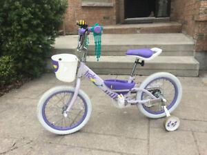 "Trek Girl's 16"" Bike with Training Wheels"