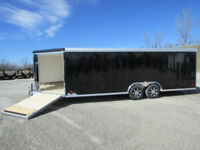 Fully Enclosed Trailer heading West