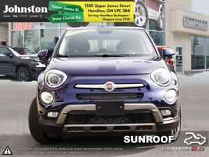 2017 Fiat 500X Trekking  BkUp Cam  Sunroof remote Start $96/wk