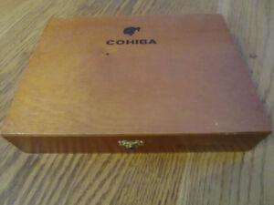 COHIBA ESPLENDIDOS CIGAR BOX