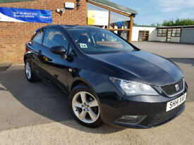 2014 Seat Ibiza 1.4 16v ( 85ps ) SportCoupe Toca MANUAL PETROL NEW SERVICE