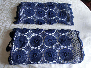 2 Crocheted Pillow Cases