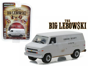 "Greenlight Big Lebowski 85 Chevy Van ""Sobchax Security"""