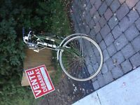 antique bycicle 28'' homme
