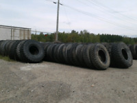Need two guys to load large tires