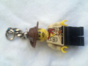 LEGO Johnny Thunder Keychain Kingston Kingston Area image 1