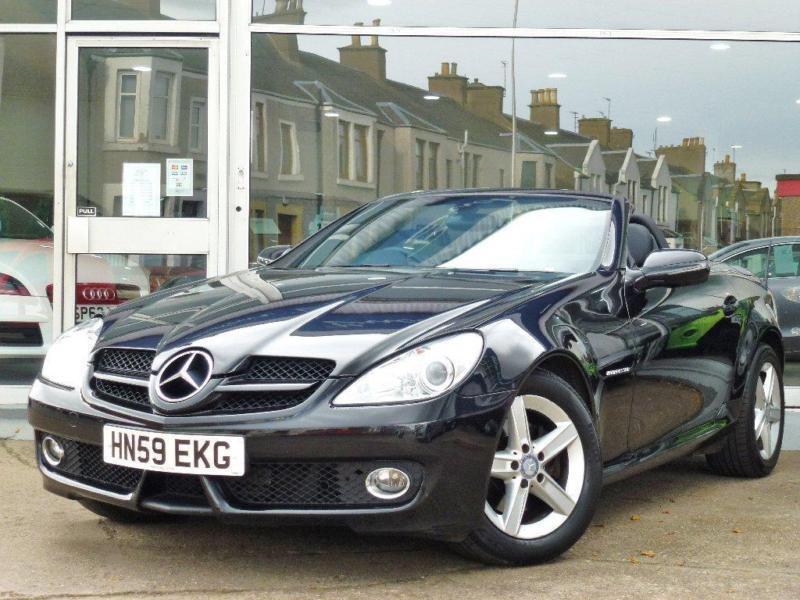 2009 mercedes benz slk 1 8 slk200 kompressor 2dr in for Mercedes benz fife