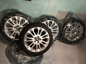 "OEM Volvo 17"" Sagitta Wheels with WINTER TIRES"