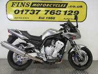 Yamaha FZS1000, Silver, Excellent, Mature owner, Serviced, MOT, Warranty