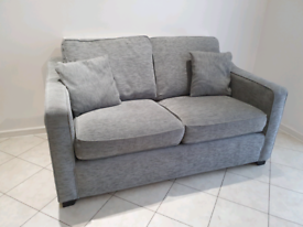 2 Seater Grey SCS Sofa Bed (Good Condition)