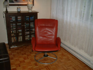 Leather Reclinable Chair (IKEA)