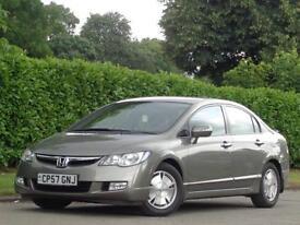 2007 Honda Civic 1.4 IMA Hybrid CVT ES***1 PRE OWNER + LOW MILES 72K***