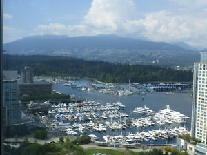 Coal Harbour 3Bed + 3Bath + Den With Wondweful View