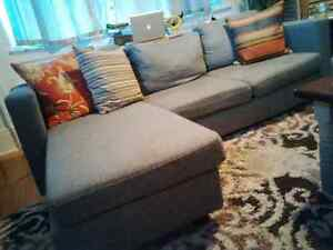 L Sectional 1 Year Old Couch