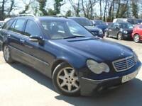 2002 52 MERCEDES-BENZ C CLASS 2.7 C270 CDI ELEGANCE SE 5D AUTO 170 BHP DIESEL