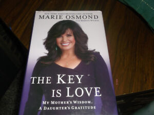 marie osmond book -The Key Is Love