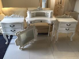 Shabby chic bed room furniture