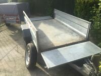 HUGE Erde 192 tipping trailer (both ends drop) All EXTRAS