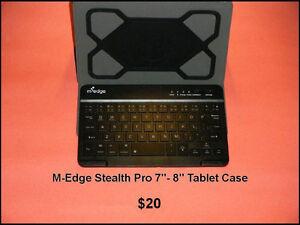 "7""- 8"" Bluetooth Keyboard Tablet Case"