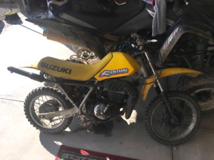 1996 ds 80 2 stroke with spare motor