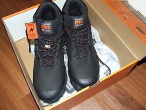 NEW Men's Timberland Steel Toed Work Boots Size 12