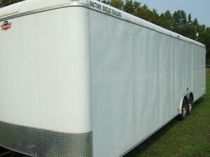 ENCLOSED TRAILER- 2012 MODEL-