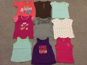 spring/summer clothes size 5 all of them in excellent condition